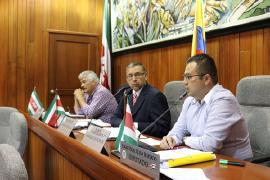 Sustentación de secretarios, componente de respaldo en primer debate a Proyecto de Empréstito