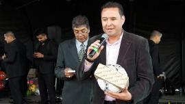Con materia prima de Corea fabricaron primer balón profesional en Monguí