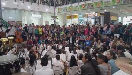 Duitama vivió un adelanto del Encuentro Nacional de Bandas de Paipa