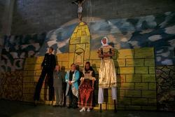 Hamlet fue presentada en Cómbita por el grupo de teatro 'Metamorfosis de Libertad'