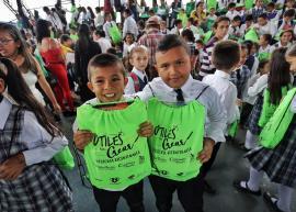 'Útiles para Crear Historia Bicentenaria' llegó al Occidente de Boyacá