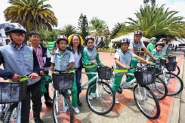 En Floresta continuó entrega de 'bicikits'