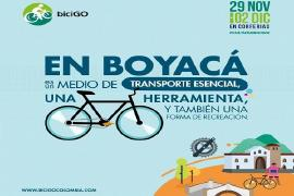 Boyacá, departamento invitado de honor a BiciGo