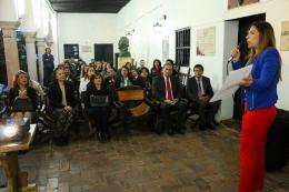 Tunja, ciudad donde se lanzó la III Bienal del Departamento