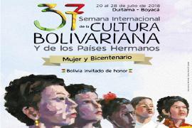 37 Semana Internacional de la Cultura Bolivariana y los Países Hermanos – Mujer y Bicenternario