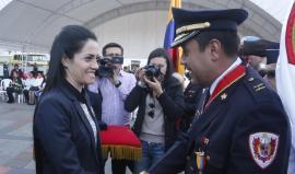 Gobernación condecoró a cuerpo de bomberos de Tunja