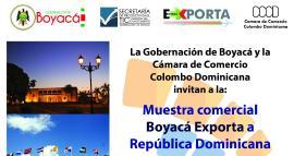 Boyacá se prepara para exportar a República Dominicana