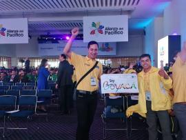 Jóvenes representan a Boyacá en México