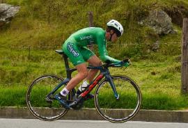 Gérman Gómez ganó la C.R.I de la Vuelta del Futuro