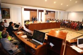 Gobernador de Boyacá dio instrucción de iniciar obra de intercambiador vial del cruce Nobsa - Siatame con BTS