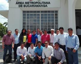 Visita Técnica de 15 alcaldes de la Provincia Centro al Área Metropolitana de Bucaramanga