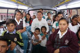 Gobernador Amaya retomó puesta al servicio de buses escolares en Boyacá