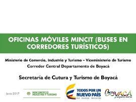 Estrategia 'Oficinas Móviles' MINCIT llegará a Boyacá