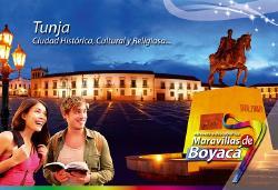 Cultura y Turismo promociona la campaña 'El mundo Recorre las Maravillas de Boyacá'