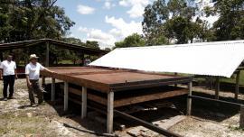 Familias productoras de cacao en Cubará recibieron fermentadoras y secadoras