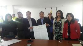 Candidatos a la alcaldía de Caldas firmaron Manifiesto por la Transparencia