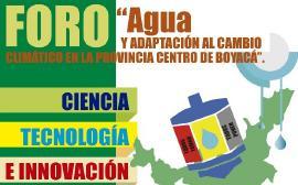 """Foro """"Agua y adaptación al cambio climático en la provincia centro de Boyacá"""