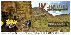 En Sáchica se realiza el IV Encuentro Departamental de Caminantes