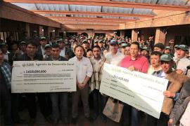 Compensación a agricultores boyacenses, logradas en el Paro Agrario, se hicieron realidad