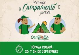 100 jóvenes boyacenses se darán cita en Tópaga para el primer Campamento Juvenil
