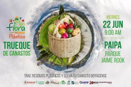 El viernes habrá trueque de canastos en Paipa