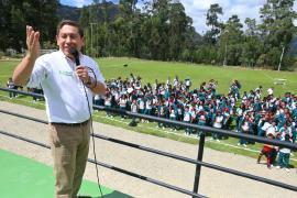 Paz de Rio cuenta con una nueva cancha deportiva y parque principal que embellece el municipio