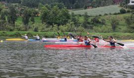 Colombia ocupó tercer puesto en Suramericano de Canotaje en Paipa