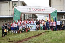 Indeportes Boyacá apoyó el Primer Encuentro de Interinclusión en Centro Penitenciario de Cómbita