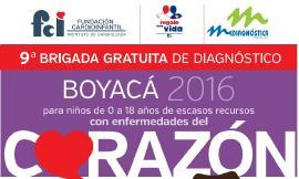 Más de 300 niños boyacenses de escasos recursos serán atendidos durante Brigada Gratuita de Diagnóstico