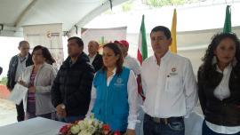 Gobierno Nacional inauguró vía en el municipio de Sogamoso