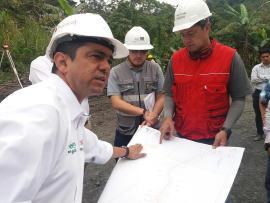 DNP destaca la calidad de la obra que se está ejecutando en la vía Moniquirá-Togüí