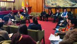 Gobernación de Boyacá realiza seguimiento a Planes de Respuesta en Emergencias
