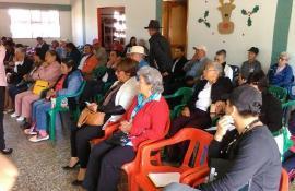 Administración Amaya Rodríguez trabaja en garantía de derechos de Adultos Mayores de Sogamoso