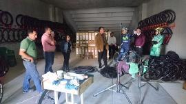 Nairo Quintana visitó a Indeportes Boyacá