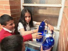 Gobierno de Carlos Amaya inauguró proyecto de transformación de aguas lluvias en agua potable