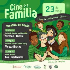 En Socha, Gobierno de Carlos Amaya celebra el Día de la Familia