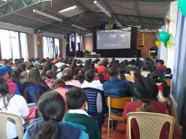 Lanzamiento departamental  de 'Cine en Familia', en Socha, superó las expectativas previstas