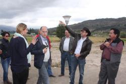 Fundación Clinton visita a Boyacá para conocer producción en escala