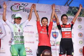 Lorena Colmenares, subcampeona de la Vuelta a Boyacá