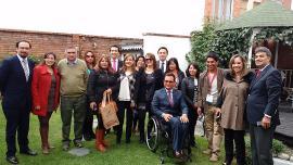 Casa de Boyacá emprende acciones con embajadas y entidades nacionales
