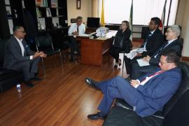 Comisión de Moralización conoció informe sobre obra del Hospital Regional de Moniquirá.