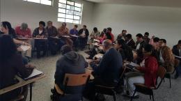 Comunales de Tundama participaron activamente en la socialización del Plan de Desarrollo