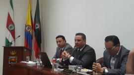 Secretario de Productividad presentó informe de paro de transportadores en Concejo de Duitama