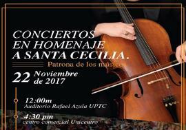 Cultura y Turismo invita a conciertos en honor a la Patrona de los Músicos