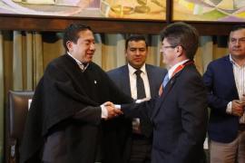 Gobernador exaltó la labor del Director Nacional de Gestión del Riesgo de Desastres