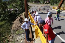 Trabajos para recuperar puente en Otanche tardarían tres meses