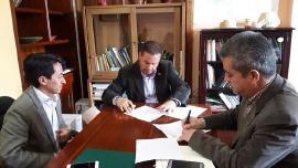Suscriben alianza entre la Dirección TIC y los colegios de Tunja