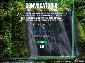 Este 22 de enero vence el plazo participar en la convocatoria de Turismo