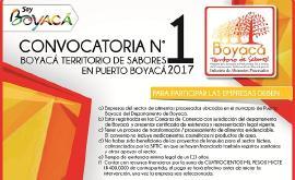 'Boyacá Territorio de Sabores' abre convocatoria para empresas de alimentos en Puerto Boyacá