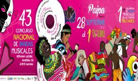 Hasta el 1 de septiembre están abiertas las inscripciones de XLII Concurso Nacional de Bandas Musicales de Paipa